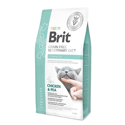 Brit Veterinary Diet Cat Grain free Struvite.