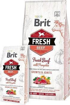 Brit Fresh Beef with Pumpkin Puppy Large Breeds & Junior