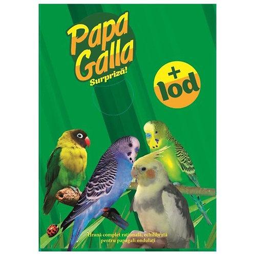 PapaGalla Полнорационный сухой корм для волнистых попугаев