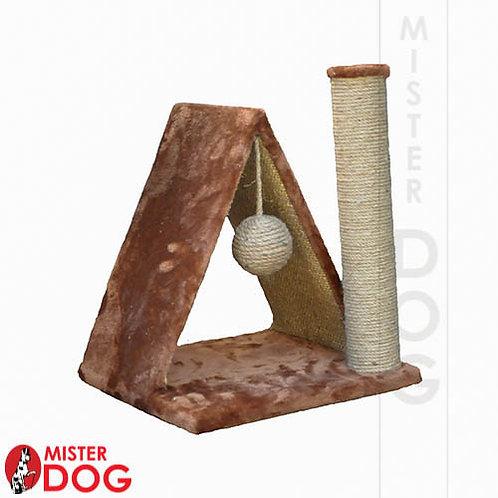 Когтеточка-домик для котят, высота 42см