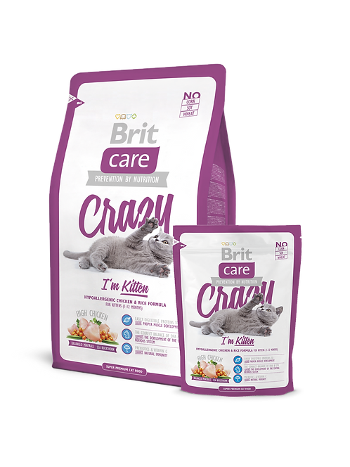 Brit Care Cat Crazy