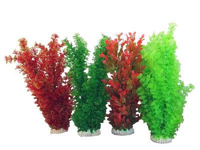 Растения искусственные, 35-38 см пушистые