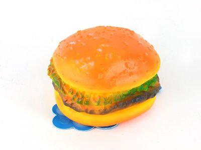 """Игрушки винил, с пищалкой """"Гамбургер"""", 8cm"""
