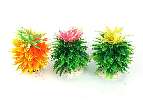 Растения искусственные,  кактус одинарный, разные цвета