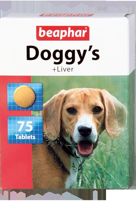 Кормовая добавка Doggy's + Liver со вкусом печени для собак