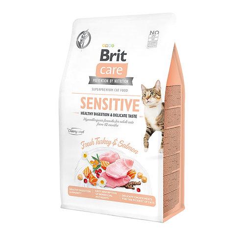 Brit Care Cat GF Sensitive Healthy Digestion & Delicate Taste