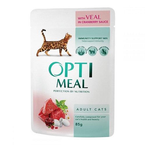 OptiMeal с Телятиной в клюквенном соусе