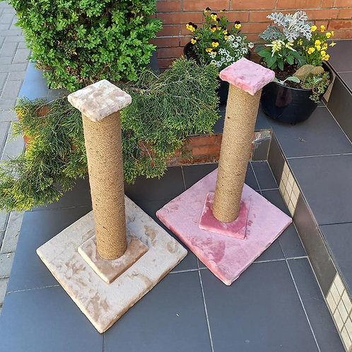 Когтеточка-столбик для кошек, 55см