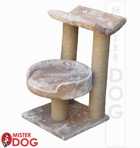 Когтеточка для кошек с седлом и площадкой, 55см
