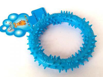 Игрушка резиновая бублик, 12cm