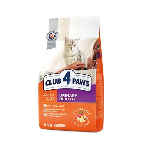 CLUB 4 PAWS Premium для взрослых кошек ЗДОРОВЬЕ МОЧЕИСПУСКАТЕЛЬНОЙ СИСТЕМЫ