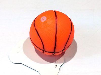 Мяч баскетбол, винил с пищалкой 6cm