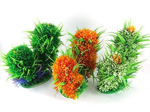Растения искусственные,  кактус двойной,  разные цвета