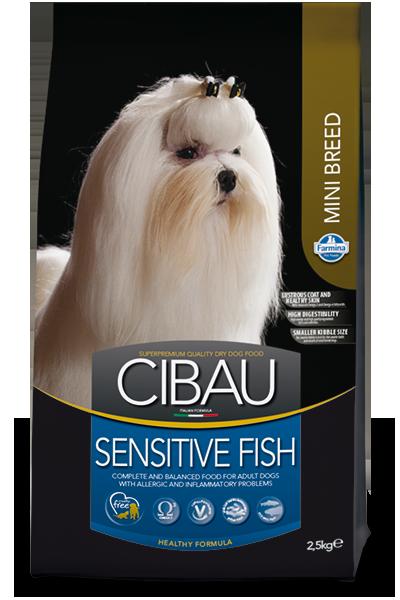 CIBAU SENSITIV FISH MINI Для взрослых собак мелких пород 2,5кг