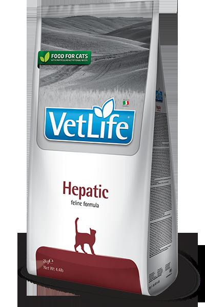 Vet Life Hepatic Поддержание работы печени при печеночной недостаточности 2кг