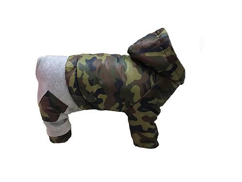 Комбинезон с отстегивающимися штанами Камуфляж