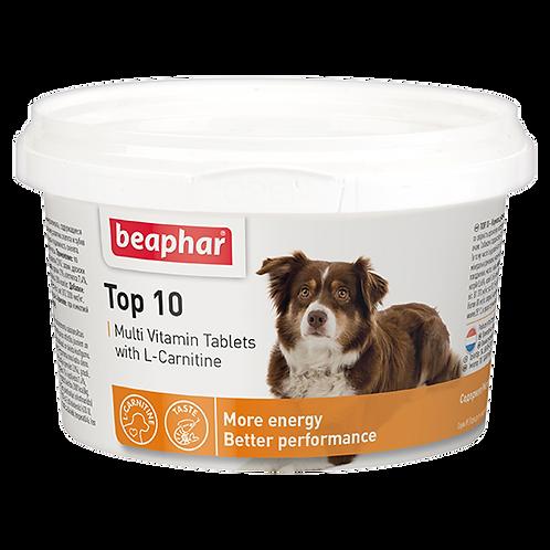 Кормовая добавка Top 10 с L-карнитином для собак 180 табл