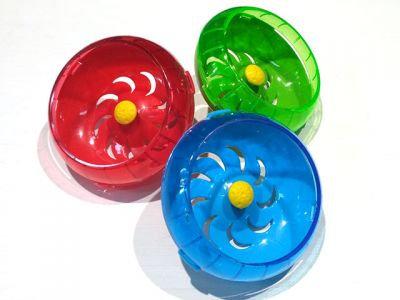 Беговое колесо для хомяка, подвесное, разные цвета