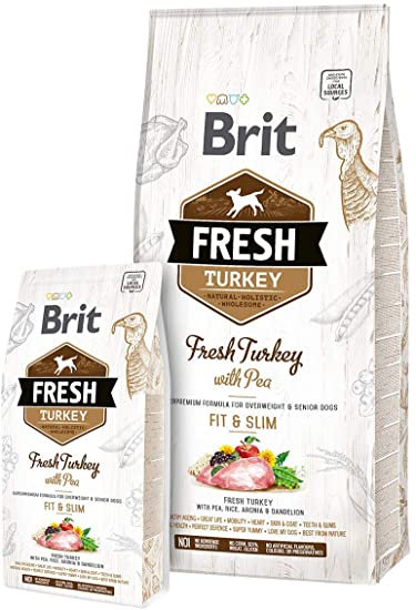 Brit Fresh Turkey With Pea Adult