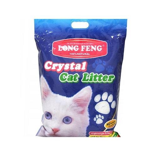 Cristal Cat Litter. Наполнитель для кошачьего туалета, силикагель 10литров