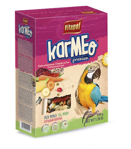 Корм Vitapol KARMEO Premium для крупных попугаев