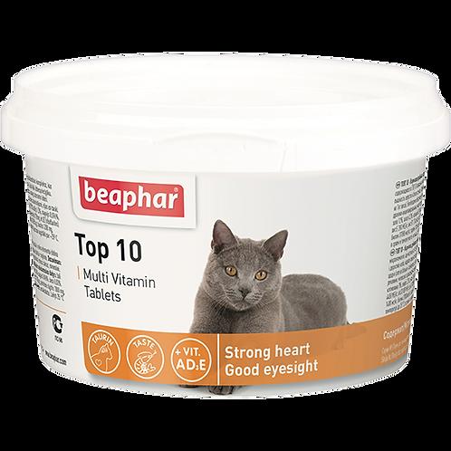 Кормовая добавка Top 10 для кошек 180 таб.