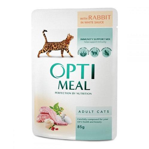 OptiMeal с Кроликом в белом соусе
