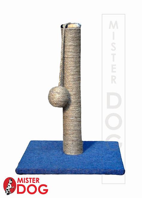Когтеточка столбик, синяя, высота 45 см