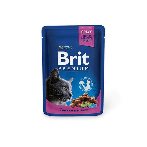 Brit Premium with Chicken & Turkey.