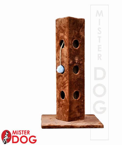 Игровая когтеточка-столбик для кошек, 80см