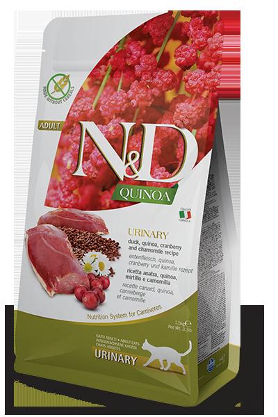 N&D URINARY DUCK Профилактика мочекаменной болезни