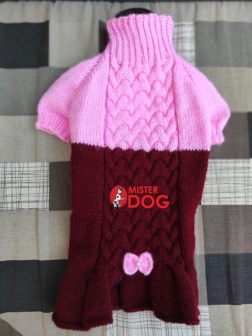 Платье вязаное для девочек