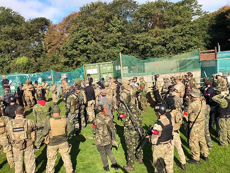 Airsoft game Play Truro Cornwall.