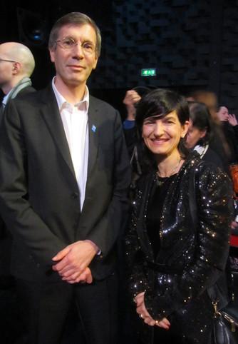 L'ambassadeur pour les droits de l'Homme  François Croquette ouvre les festivités de l'anniv