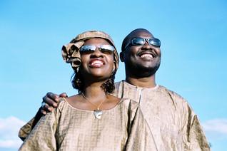 Concert. Amadou et Mariam avec les enfants aveugles d'Alabama.