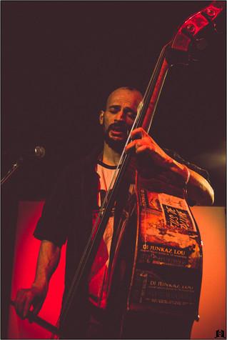 Concert à l'institut français. Dgiz, Slam