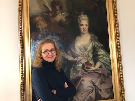 """Pauline Baer de Perignon for the release of her book """"La collection disparue"""". Interview."""