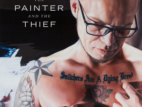 """Film.""""The Painter and The Thief"""". Art & redemption."""