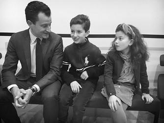 Famille Cassin lors de l'ouverture des 70 ans de la Declaration Universelle des Droits de l'