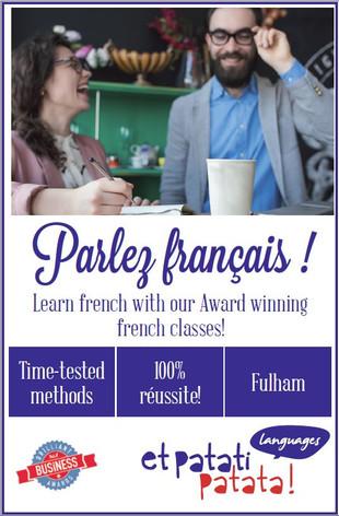 Parlez français! Et Patati Patata Languages!