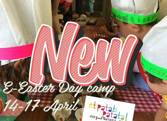Et Patati Patata Fun French E-Easter Holidays Day Camp!