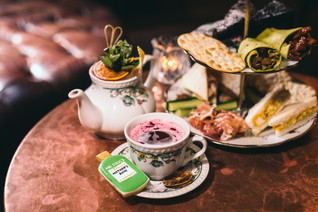 """Top afternoon tea """"made in London""""."""