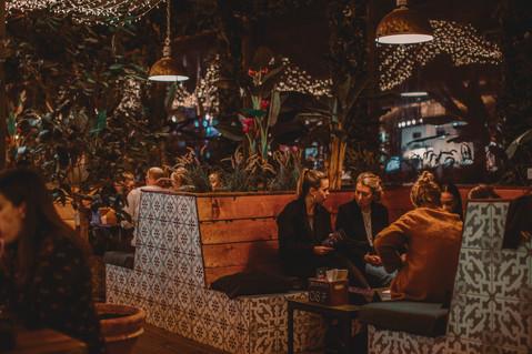 Pergola Rooftop. Découvrez les Winter Lights à London's Botanical Bolthole.