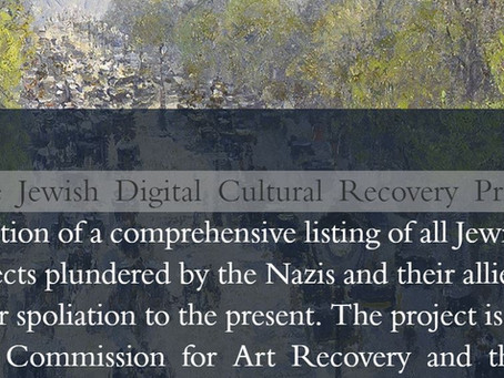 The Jewish Digital Cultural Recovery Project. Interviewing Dr. Wesley Fisher.