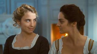 Films Français : Le portrait d'une jeune fille en feu. Portrait of lady on fire.
