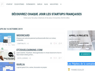"""Etzou marque de Et Patati Patata selected """"Pepites High tech french start-up"""" Number 1 October 2019!"""