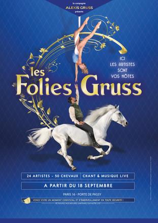 Cirque. Paris. Les Folies Gruss. Quand les artistes sont vos hôtes.