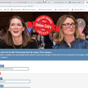 etzouelearning.com entry into the Best Technology Start-Up Judges' Prize category. Vote for us!