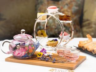 Afternoon tea au China Tang.