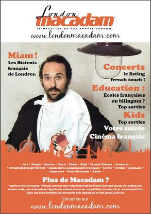 London Macadam, le magazine de vos années London!